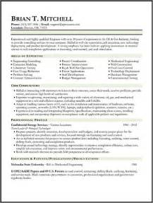 resume objective and gas resume sles types of resume formats exles and templates