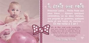 Texte Anniversaire 1 An Garçon : faire part anniversaire 1 an nu99 jornalagora ~ Melissatoandfro.com Idées de Décoration