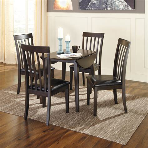 Ashley furniture is proud to offer the dhaka area the best in home furnishings at low prices. Signature Design by Ashley Hammis Round Dining Table, Dark Brown, Small 889577527086 | eBay