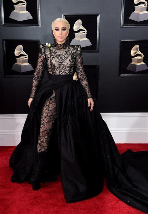 2018 Grammy Awards Red Carpet Best-Dressed: Lady Gaga ...