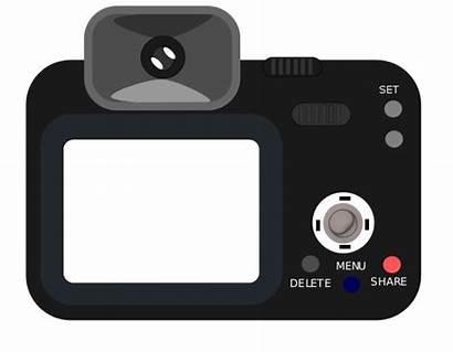 Camera Clipart Clip Dslr Flash Cartoon Clipground
