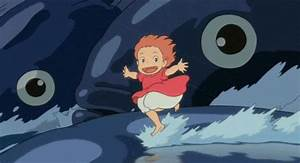 Ponyo En El Acantilado GIFs - Find & Share on GIPHY