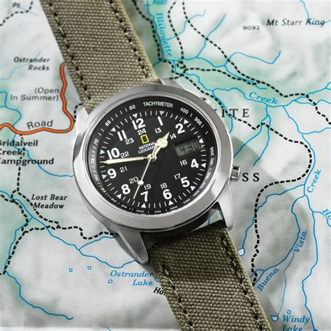National Geographic Atomic Field Watch National