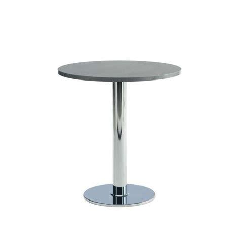 table de cuisine ronde rondo en stratifi 233 4 pieds