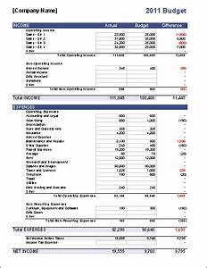 Sample Organizational Chart For Manufacturing Company Pdf Business Budget Template For Excel Budget Your Business