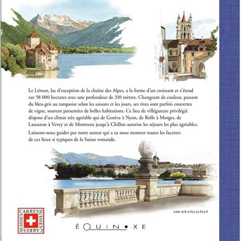 livre de cuisine suisse le leman editions equinoxe librairie en ligne livres de