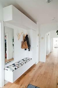 Meuble Couloir étroit : bien meuble couloir etroit photos dagencements buffets meubles sesley design blanc laque pour ~ Teatrodelosmanantiales.com Idées de Décoration