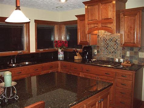 cherry wood cabinets with granite countertop cherry kitchen cabinets with granite countertops wooden