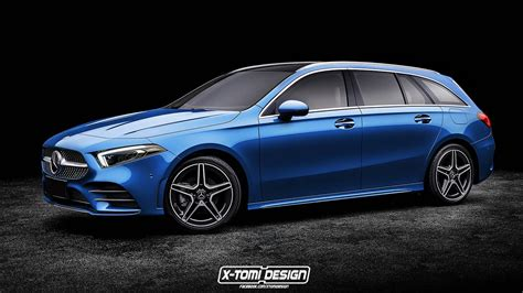 Add This 2019 Mercedes A-class Wagon Rendering To The List