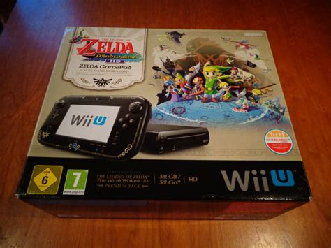 Wii U Console Pack Zelda The Windwaker Limited Edition