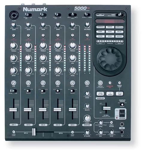numark dj console 5000fx numark 5000fx audiofanzine