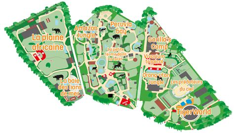 zoo mono zoos map amneville