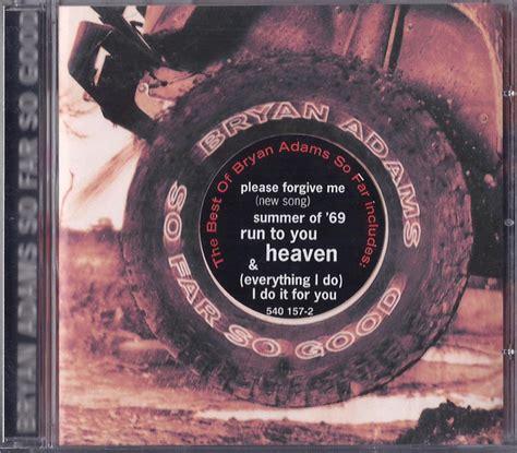 bryan adams    good cd compilation reissue