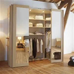 Faire Dressing Dans Une Chambre : un dressing dans une petite chambre c 39 est possible ~ Premium-room.com Idées de Décoration