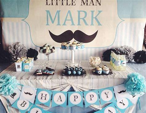 "Mustaches  Little Man  Birthday ""little Man Birthday"