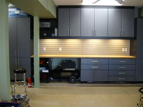 Garage Cabinets In Kitchen by How To Use Kitchen Cabinets In Garage
