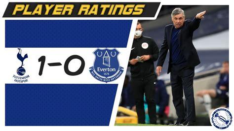Player Ratings   Tottenham 1-0 Everton - YouTube