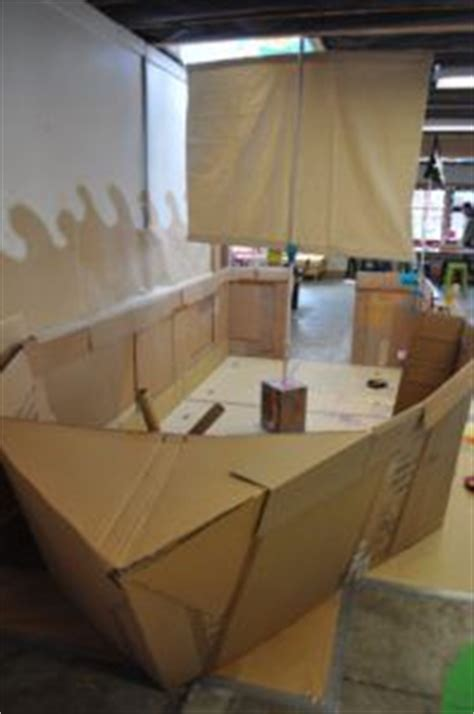 Life Size Moana Boat Diy by 25 Best Ideas About Cardboard Pirate Ships On Pinterest