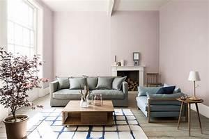 salon en couleur pastel idees sur la decoration et le With peinture murale couleur pastel