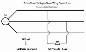 Single Phase Power Wiring Schemes