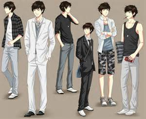 Male Clothing Anime Clothes Designs