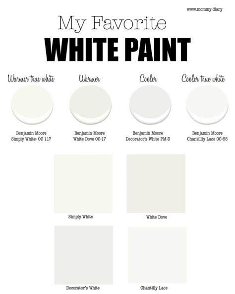choosing the white paint diary