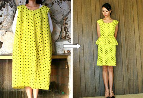 Diy Peplum Dress From Thrift Store Mumu  Fun Cheap Or Free