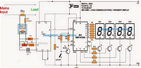 Digital Power Meter For Reading Home Wattage Consumption