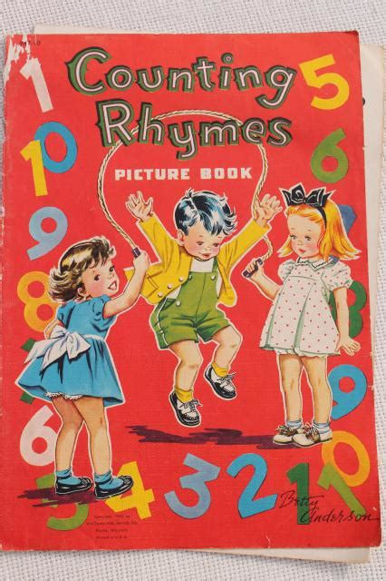 early  vintage childrens picture books  retro cover