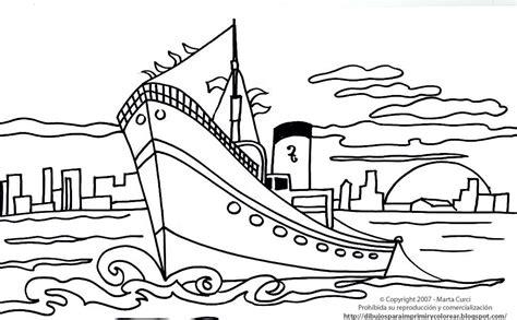 Dibujos De Barcos Para Imprimir Y Colorear by Dibujos Para Imprimir De Medios De Transporte Dibujo De