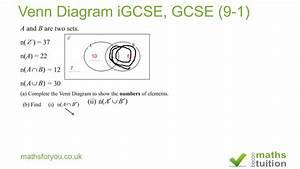 Venn Diagram Igcse  Gcse 9 1