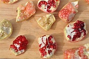 Pomegranate arils come in a rainbow of colors.