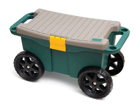Garden Stools With Wheels - promotion price sit garden seat n roll easy