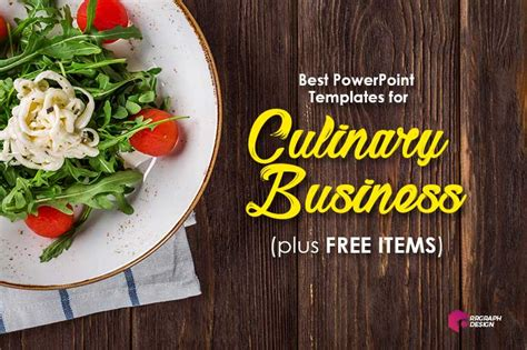 powerpoint templates   culinary business