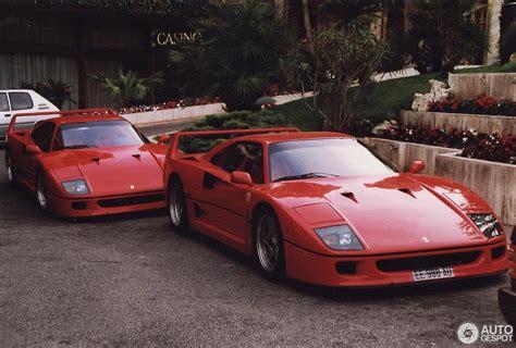 Puma ferrari mens red full zipper jacket size small. 1993 Monaco Supercar Spotting Photos Showing Two Ferrari F40s, a Retro Delight - autoevolution