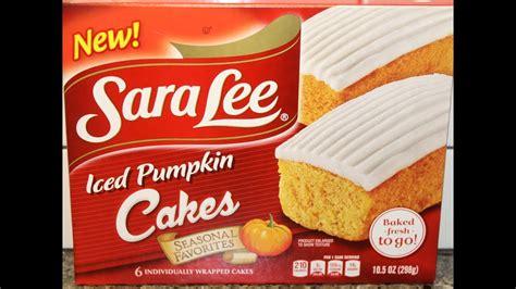 Po box 3901, peoria, il 61612. Sara Lee: Iced Pumpkin Cakes Review - YouTube