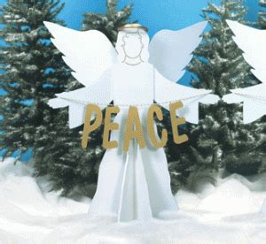 wc peace  earth angels pattern christmas angels diy