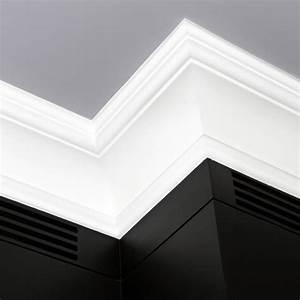 Corniche Plafond Platre : gorge platre moulure plafond ~ Edinachiropracticcenter.com Idées de Décoration