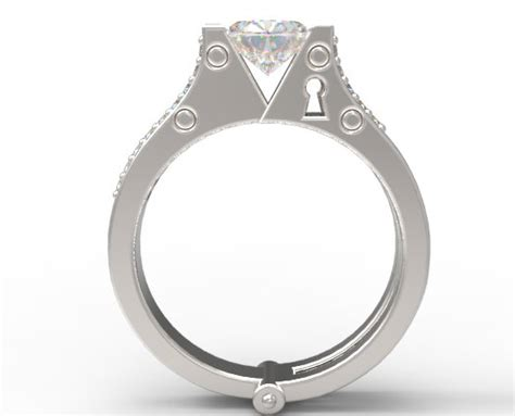 Handcuff Wedding Rings  Jewelry Ideas