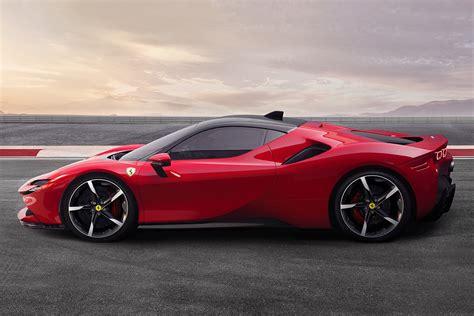 The sf90 stradale can be driven in ev mode, up to 25 km on a charge. Ferrari SF90 Stradale Hybrid Supercar | Super cars, Ferrari, New ferrari