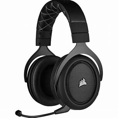 Corsair Headset Wireless Hs70 Gaming Carbon Ap