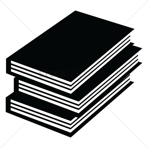 Stack of books Vector Image - 1577764 | StockUnlimited