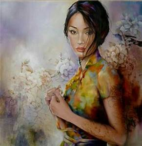 Modern Paintings Of Beautiful Women | www.pixshark.com ...