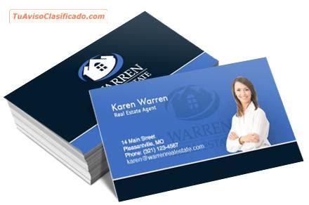 tarjetas de presentacion servicios  comercios