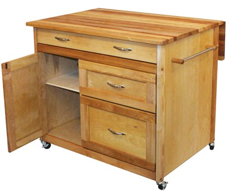 kitchen island with drawers catskill craftsmen mid sized drawer island model 1521