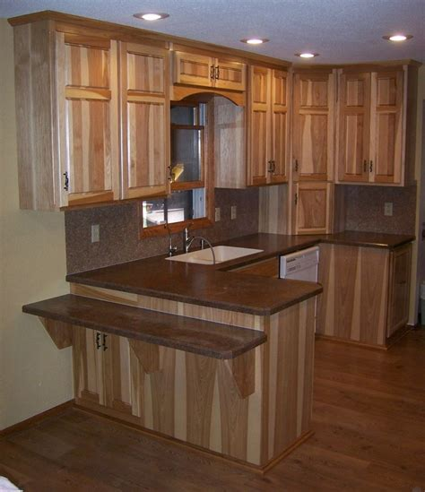 17 best images about hickory cabinets on pinterest