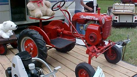 Vintage Garden Tractors by Antique Garden Tractors Designed For Domestic Lawns And