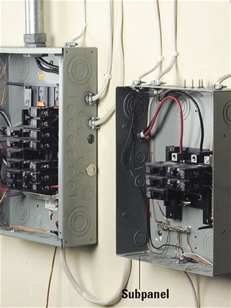 A Panel Sub Panel Wiring by Should You Install A Sub Panel In Your Basement How Do