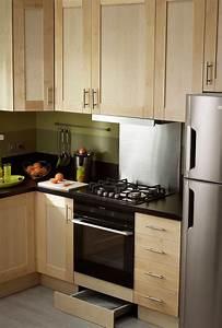 Rangement Placard Cuisine : amenager petite cuisine fonctionnelle accueil design et mobilier ~ Teatrodelosmanantiales.com Idées de Décoration