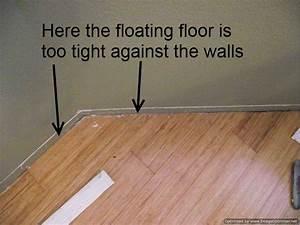 Bad laminate installation repair for How to lay down laminate flooring